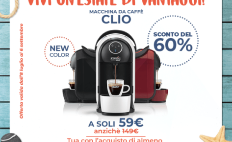 Caffitaly Clio S21 In Offerta